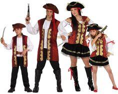 Familia de Piratas #disfraces #carnaval #disfracesparagrupos