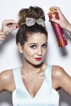 Zoella on a photoshoot (2014)