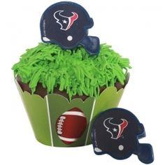 NFL Houston Texans Cupcake Rings