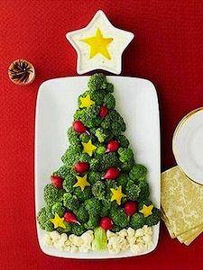 1000 Funny Food Recipes – Creative Ideas – Christmas Broccoli Tree