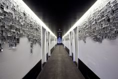 Planta 6 by Artista Lorenzo Petrantoni @ Vincci Bit Hotel, Barcelona.