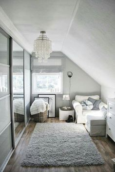 Super clean and bright bed room design
