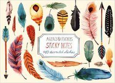 Arrows & Feathers Sticky Notes: Amazon.de: Margaret Berg: Fremdsprachige Bücher
