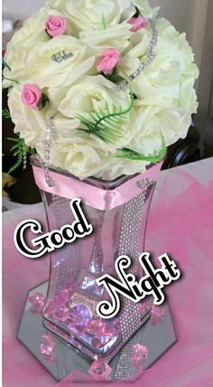 Good Night Flowers, Good Night Love Images, Good Morning Good Night, Day For Night, Good Night Messages, Good Night Wishes, Good Night Quotes, Good Nyt, Good Evening Greetings