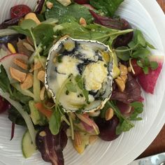 Colors of the garden salad @Fiola Mare on the Potomac in Georgetown.. yum.