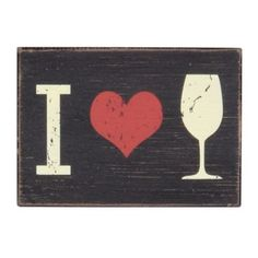 I Heart Wine Wall Plaque | Kirkland's #wino #cute