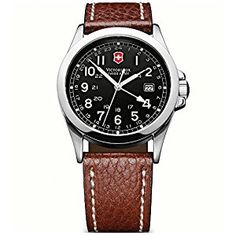 Shop authorized Victorinox Swiss Army watch retailer - w/ manufacturer warranty and Tourneau warranty.X, Alpnach, Chrono Classic & more. Army Infantry, Brown Leather Strap Watch, Brand Name Watches, Victorinox Swiss Army, Swiss Army Watches, Time Zones, Army Men, Watch Sale, Omega Watch
