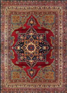 Antique Kerman Lavar Rug – Circa: 1890 Sizes: 11.8X14.10