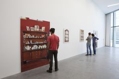 Paolo Riolzi, Vetrinette, Museion Project Room, 2012. Photo Paolo Riolzi Museion Bolzano http://www.museion.it/?p=11107