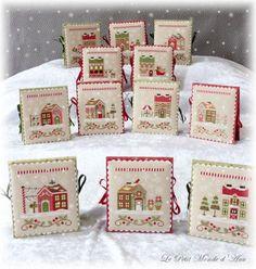 Santa's Village flatfolds -- http://countrycottageneedleworks.com/santasvillage.html
