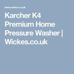 Karcher Premium Home Pressure Washer Washer, Washing Machine