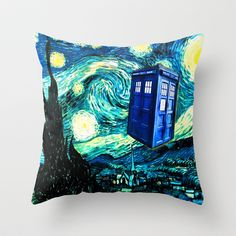 dr. who meets starry night