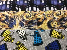 Fabulous new Dr. Who fabrics in stock now!