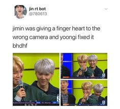 Hahahaha! That look on Yoongi.