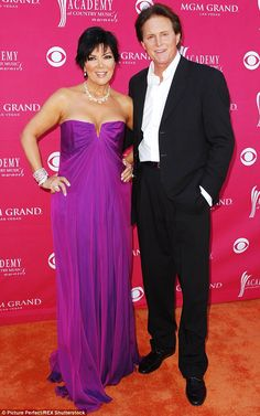 The way they were: As Mr and Mrs Bruce Jenner in April 2009, when KUWTK took off...