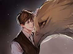 """""Come here, Frank."" #FantasticBeasts"""