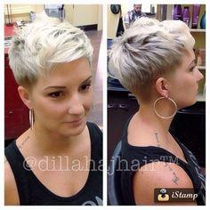 """Speciaal voor de """"Hot Blondes"""" dames onder ons: 10 zeer vrouwelijke korte blonde kapsels! - Kapsels voor haar"""