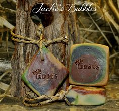 "3-16-17 ""Cammo Goat's Milk Clove""  Facebook @ Jackie's Bubbles"