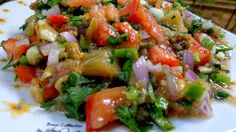 Vegetable Sides, Vegetable Recipes, Vegetarian Recipes, Cooking Recipes, The Kitchen Food Network, Dips, Greek Dishes, Happy Foods, Salad Bar