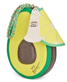 Betsey Johnson Avocado Wristlet