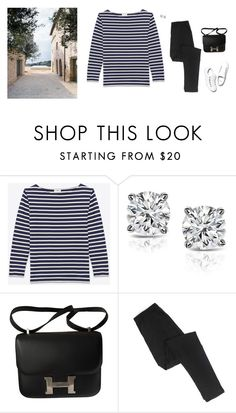 """""""The simple life"""" by panda6980 ❤ liked on Polyvore featuring Yves Saint Laurent, Auriya, Hermès and Diemme"""