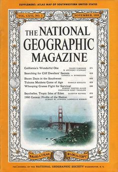 National Geographic November 1959