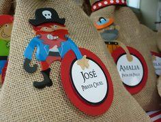 Divertidos regalos para una fiesta pirata
