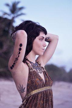 #moon tattoo