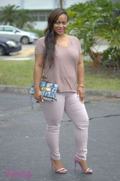 Color Trend | Pink Treggings - Talitha's Take