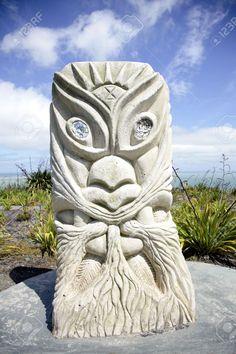 Rising Sun Tawhiri, Maori God of Wind and Storm, Raglan, New Zealand