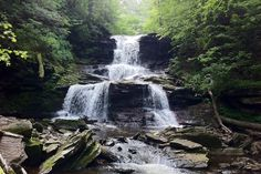 Ricketts glen state park contains one of the many hikes with waterfalls and gorgeous views in the philadelphia region. / photograph by richard White Haven, Delaware Water Gap, Waterfall Hikes, One With Nature, Park Photos, Weekend Fun, Outdoor Areas, Get Outside, The Life
