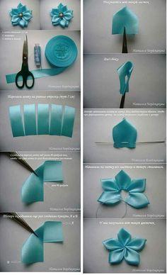 Best 12 Kanzashi flowers – Artofit – Page 537335799290374866 – SkillOfKing. Satin Ribbon Flowers, Cloth Flowers, Diy Ribbon, Ribbon Work, Fabric Ribbon, Ribbon Crafts, Flower Crafts, Fabric Flowers, Fabric Wreath