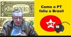 Como o PT faliu o Brasil - Olavo de Carvalho