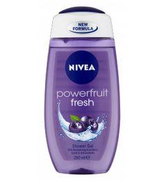 #NIVEA Powerfruit Fresh Shower Gel. Revitalising Acai Berry to nourish your skin and senses. #beauty #skincare
