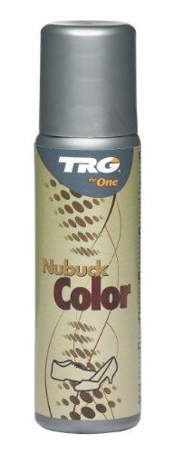 TRG the One Suede Color Enhancer 75ml #118 Black by TRG the One Suede Color Enhancer. $4.99. TRG the One's easy to use applicator for enhancing the existing color for Suede and nubuck! This product is NOT for changing colors, just enhancing existing colors! Super easy to use with foam applicator...no mess!