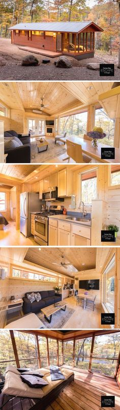The Premiere Cabin. Available for order from ESCAPE Homes!