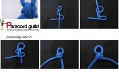 How to make a cross knot - Paracord guild                                                                                                                                                                                 More