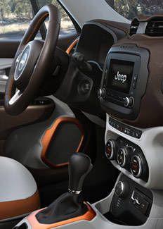 2015 Jeep Renegade Interior Dashboard