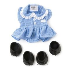 Me To You Tatty Teddy and My Blue Nose Friends Tatty Puppy School Dress and Shoes: Amazon.co.uk: Toys & Games