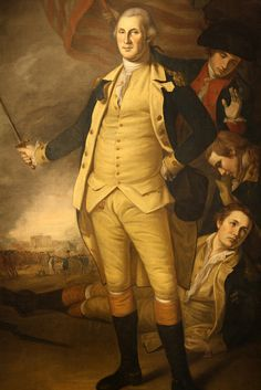 This vintage American History painting features General George Washington at the Battle of Princeton. The original was painted by Charles Willson Peale. American Independence, American Presidents, American War, Early American, American History, American Spirit, American Soldiers, Conquistador, Independencia Usa