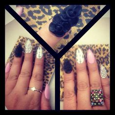 3D nail art Check out Dieting Digest http://cutenail-designs.com/