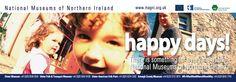 Dart 'Happy Days' campaign. Design: Padraic Lynch National Museum, Lynch, Northern Ireland, Happy Day, Design Projects, Campaign, Lost, Northern Ireland County