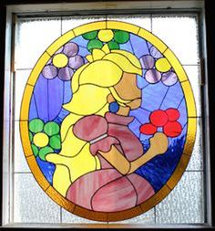Geeky Stained Glass Windows