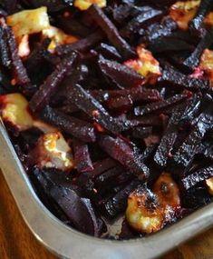 Punajuuri-vuohenjuustopaistos | Maku Meat Recipes, Vegetarian Recipes, Cooking Recipes, Healthy Recipes, Dinner Recipes, Low Carb Menus, Eat Lunch, Happy Foods, I Love Food