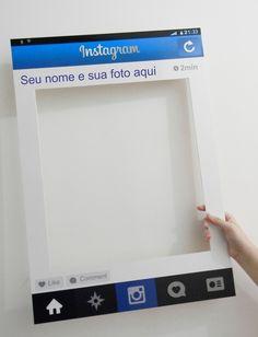 Placa para Instagram!    Placa de Foam Bord 5mm, com adesivo de alta resolução!  Você pode personalizar com sua foto, nome, # (hashtag) ou nome dos noivos!  Nossa placa é leve e muito firme! Produzida no melhor material para esse tipo de placa!    TAMANHO: 68CM X 48CM R$ 79,00