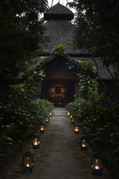 mountain lodge, nepal • via that traveler