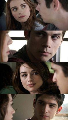 Lydia, Stiles, Allison et Scott Teen Wolf Malia, Teen Wolf Allison, Teen Wolf Stydia, Teen Wolf Boys, Teen Wolf Dylan, Teen Wolf Cast, Dylan O'brien, Scott Mccall, Movie Couples