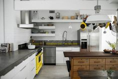 Maya Ivanir, Winner of the 2014 Remodelista Considered Design Awards, Best Amateur Kitchen, plus lots of other award winning living spaces New England Kitchen, Maya, Design Awards, Kitchen Backsplash, Kitchen Storage, Kitchen Shelves, Cool Kitchens, Small Kitchens, Home Remodeling