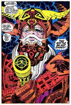 Thor 162 Odin splash page Kirby 1969