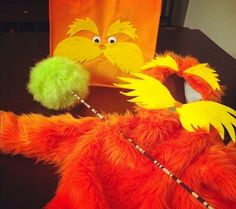Used this idea i saw to make a lorax costume for my son huge hit used this idea i saw to make a lorax costume for my son huge hit cute ideas pinterest lorax costume lorax and costumes solutioingenieria Image collections